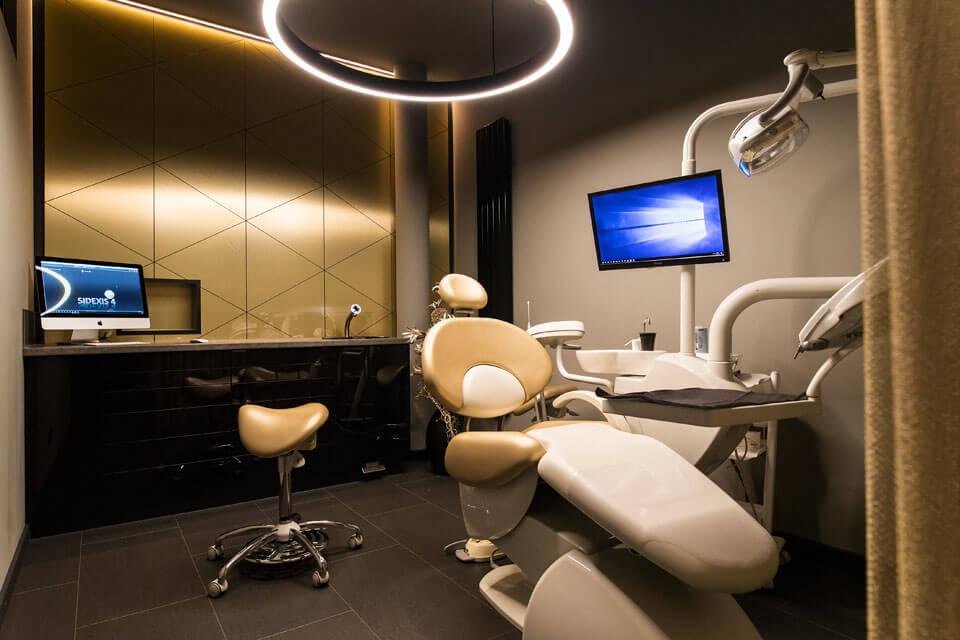 Behandlungszimmer Zahnarztpraxis Dr. Gal