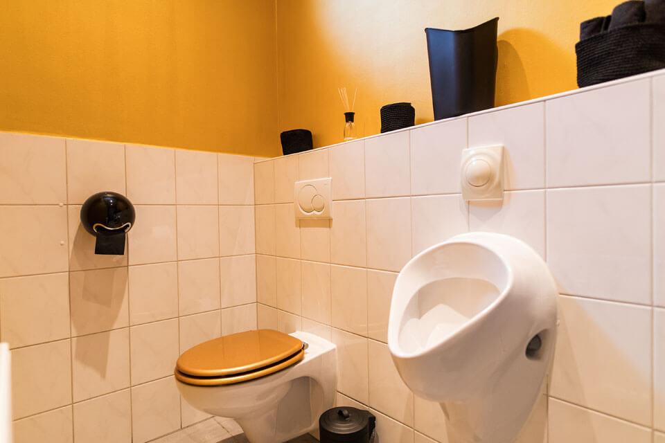 Toilette der Zahnarztpraxis Dr. Gal