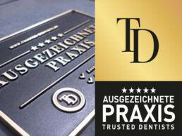 Zahnarzt Dr. Gal Auszeichnungnen Zertifizierungen Trusted Dentist