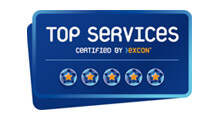 Logo Zertifizierungen Top Services Excon