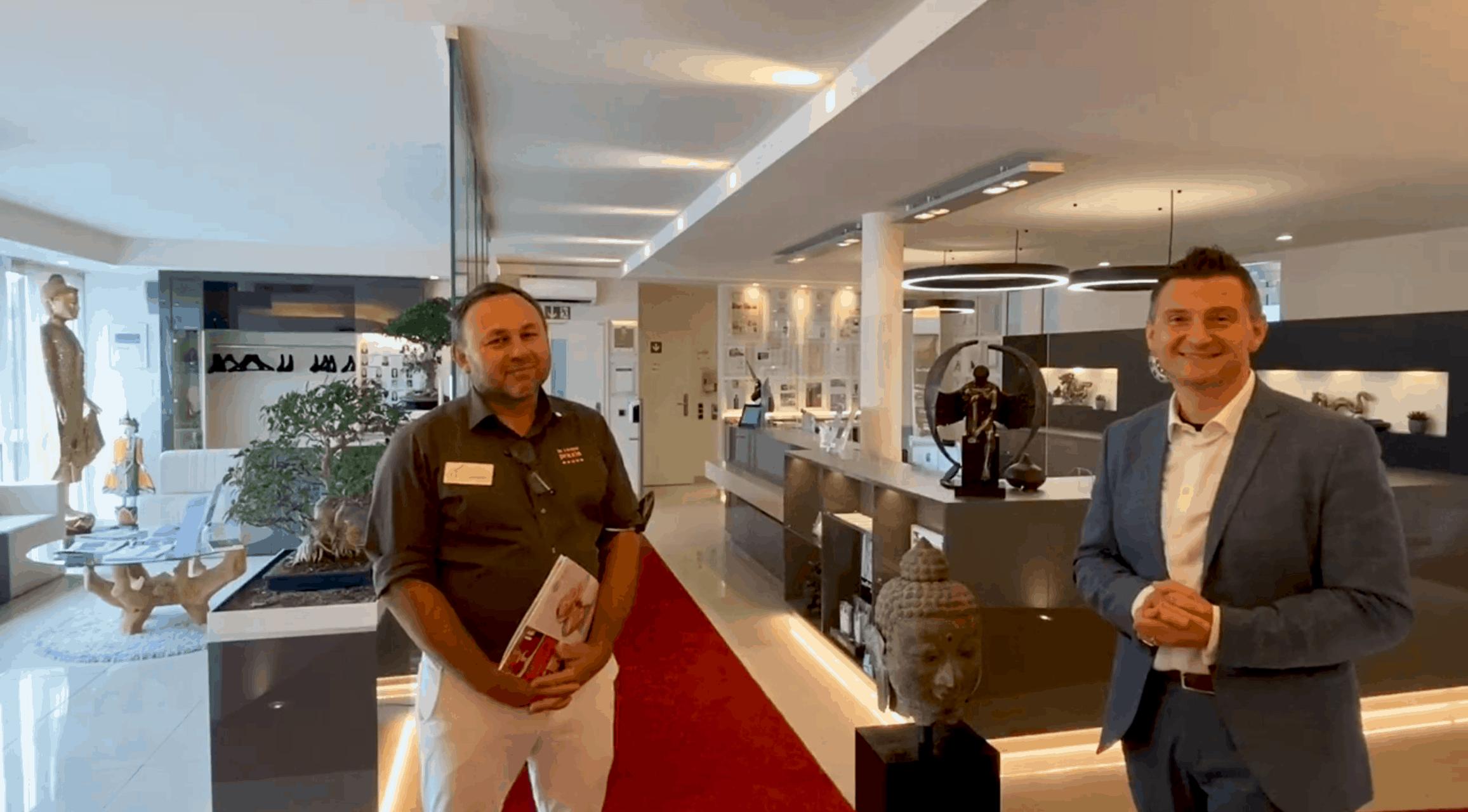 Dr. Jos Gal im Gespräch mit Robert Filipovic